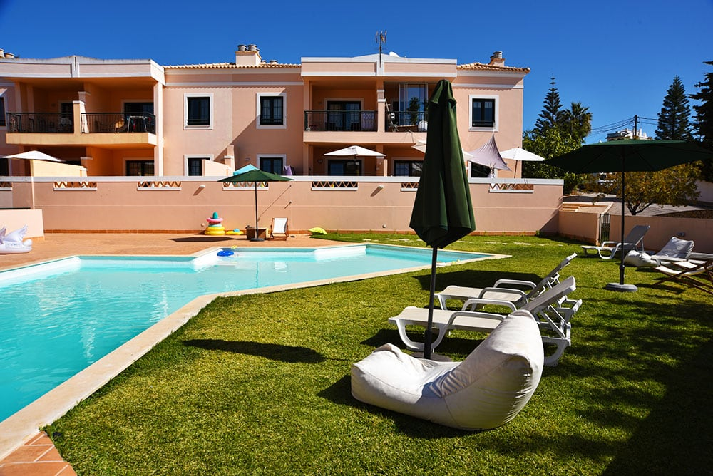 Alvor apartment swimming pool