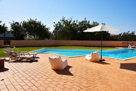 swimming pool , alvor, apartment, the algarve, portugal