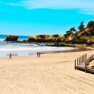 Alvor beach in the Algarve
